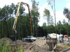 Rent of concrete pumps Kiev. Services of