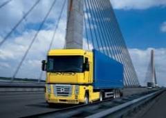 Cargo transportation France - Ukraine