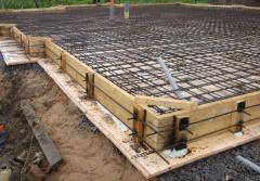 Preparation of concrete mixes, concrete solutions