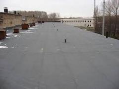Colocação de telhado macio