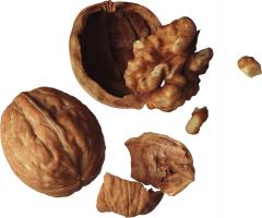 Чистка орехов