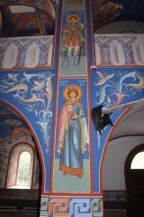 Красивая роспись стен, храмы Киев
