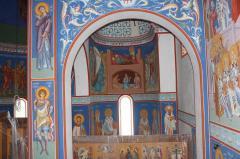Реставрация росписи в храме Киеве