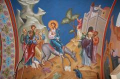 Художественная роспись храма, ручная роспись стен и потолков церкви Киев
