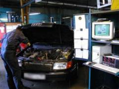 Diagnostics and repair of electric equipmen