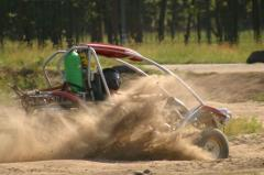 Rolling of the buggy