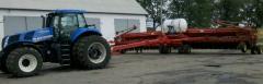 Re-equipment of seeders