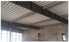 Strengthening of overlapping and roof of the