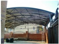 Canopies for cars, design, production and