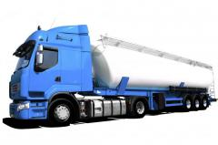 Automobile transportation of oil products to
