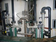 Pipelines technological for transportation of