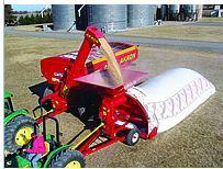 Хранение зерна в мешках Silobolsa