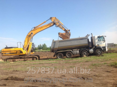 Services of the JCB 330 excavator