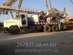 Rent of the Bauer BG 20 V drilling rig