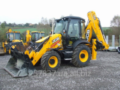 Services of the JCB 3CX excavator
