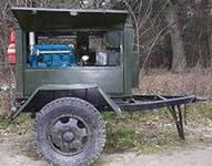 Rent of the welding machine wheel SAKY