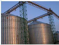 Проектирование, монтаж силосов для хранения зерна