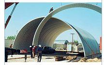 Монтаж металлоконструкций для промышленных объектов и объектов сельского хозяйства