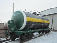 Major repair of cars tanks of model 15-1487