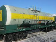 Major repair of cars tanks for storage nitric acid