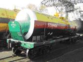 Major repair of cars tanks for yellow phosphorus