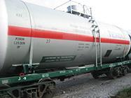 Major repair of cars tanks for ammonia