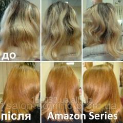 Мгновенное кератиновое био-восстановление для всех типов волос Amazon Series в Львове