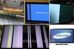 Repair of LCD and LED of matrixes of TVs