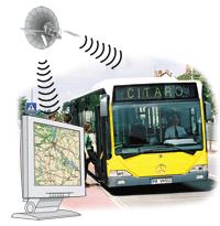 Контроль уклонения от маршрута автотранспорта