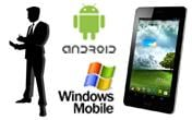 Спеціальне програмне забезпечення для мобільних пристроїв на базі ОС Android або Windows Mobile