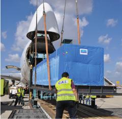 International, internal freight air transportation