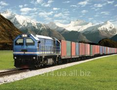 Intermodal, multimodal container transportations