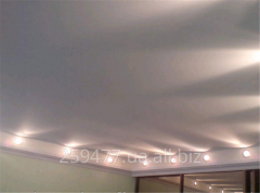 Installation of stretch ceilings