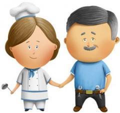Нанять семейную пару для ухода за домом и садом