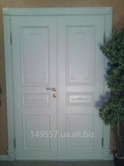 Изготовление элитных дверей из массива дерева .