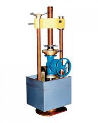 We carry out tests of pipeline armature at the
