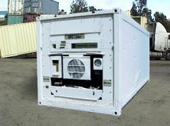 El alquiler refrizheratornyh de los contenedores