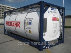 El alquiler tankkonteynerov