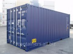 El leasing de los contenedores de mar