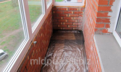 Waterproofing of balconies Dnipropetrovsk