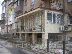 Extension of balconies Dnipropetrovsk