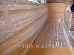 Balcony thermal insulation Dnipropetrovsk