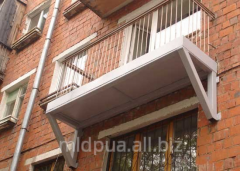 Strengthening of balconies Dnipropetrovsk