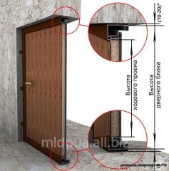 Installation of door blocks Dnipropetrovsk