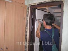 Installation of doorways Dnipropetrovsk