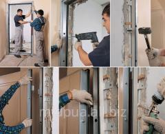 Installation of doors Dnipropetrovsk