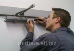 Repair of closers of doors Dnipropetrovsk