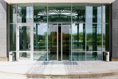 Installation of automatic doors Dnipropetrovsk