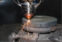Наплавка торционных уплотнений и клапанов запорной арматуры