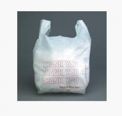 The press on plastic bags